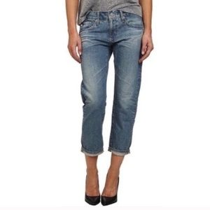AG Adriano Goldschmied Tomboy Cropped Jeans